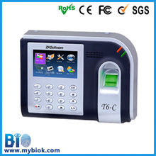 now available bio metric thumb print time attendant machine (HF-T6)