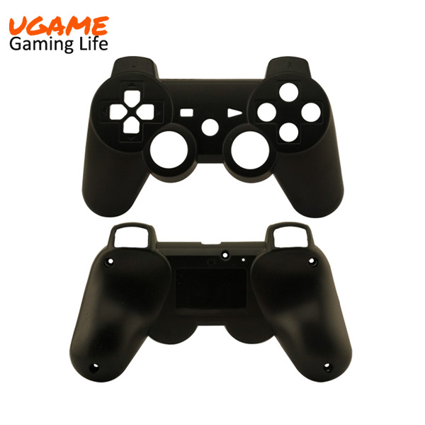 HOt Sale Wireless Controller Full Housing Shell Case for Sony PS3 Matte Black