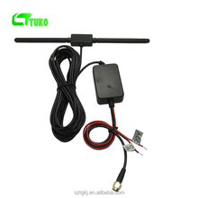 Manufacturers 25db booster aerials auto signal amp Wholesale Universal Car antenna