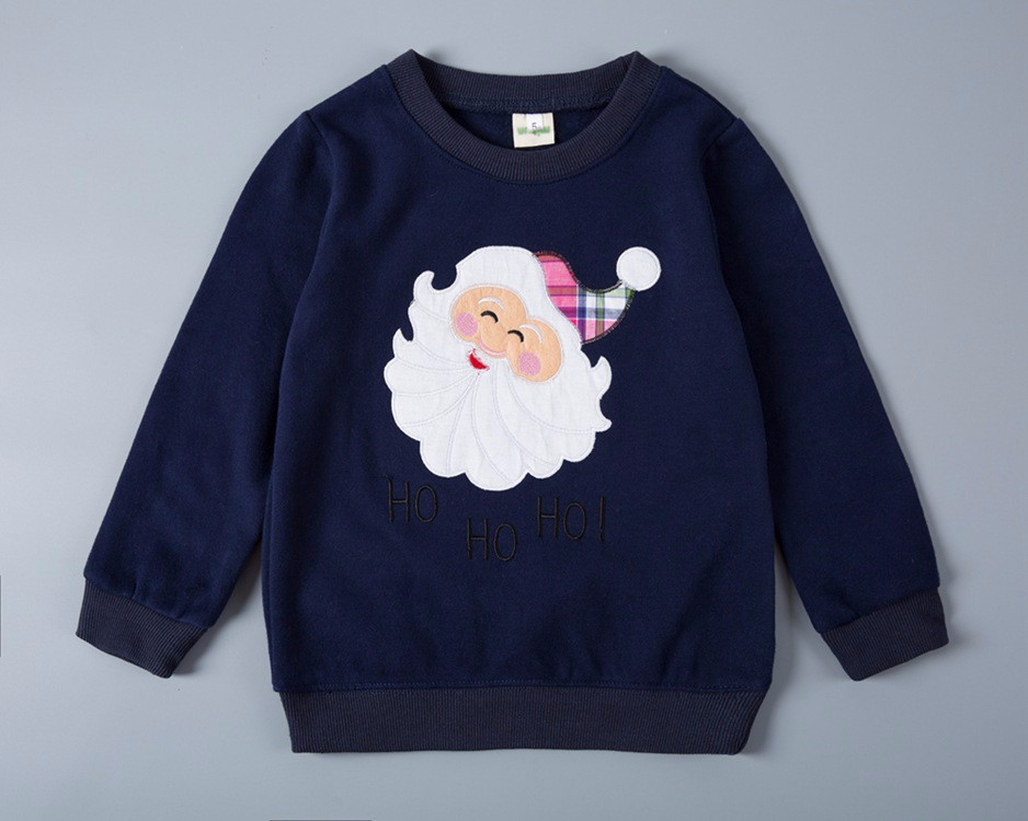 Kids clothing wholesale christmas pullover unisex sweatshirt