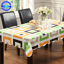 Sumdge-proof printed wholesale disposable tablecloth wedding pvc plastic tablecloth rolls