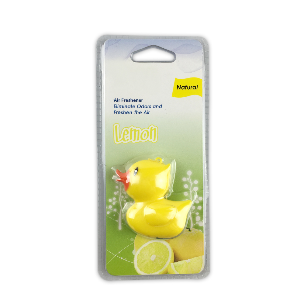 New Gel Scented Popular Yellow Duck Car Air Freshener
