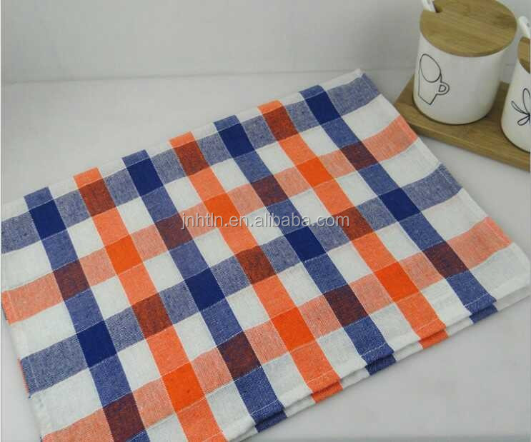 Yarn dyed kitchen towel jacquard tea towel 100% cotton