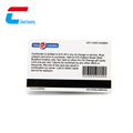 4 Color Fidelity Bar code Printed Both Sides Plastic Smart Card