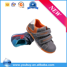 Guangzhou cheap brand high quality kids boy leather running shoe for child