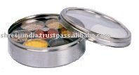 Stainless Steel Spice Box / Masala Dabba