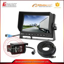 7inch monitor waterproof digital camera for agricultural vehicle