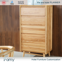 Modern design drawer chest living room cabinets with 5 drawers