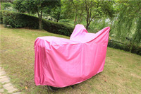 190t polyester coating silver waterproof trike cover at factory price