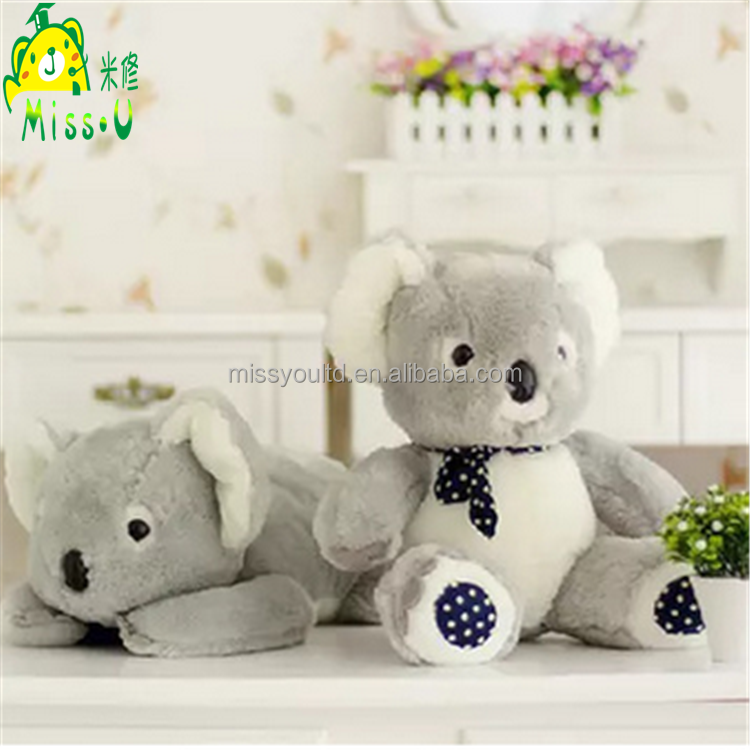 Wholesale Plush Material Stuffed Handsome Koala Bear Plush Toy