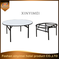 used folding round dining tables sale at factory price