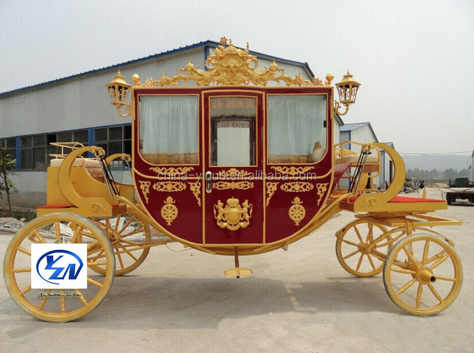 Yizhinuo Princess Royal horse drawn or electric carriage