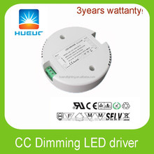 30w round shape led driver 48VDC 750ma dimmable led driver constant current