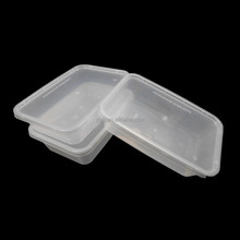 wholesale 500ml /18oz clear disposable rectangular plastic food / sandwich / biscuit / cookie packaging container / box
