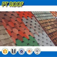 Alibaba trade assurance color coated fiberglass roofing materials High end quality asphalt shingle
