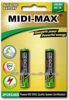 Dry cell Lr03 Aaa size Super Alkaline Battery (blister-card) suppliers