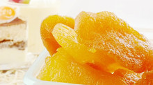 Dried golden sweet pear pieces with high quality, free samples, good price