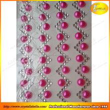 Round pearl beads self-adhesive sticker for scrapbook wholesale