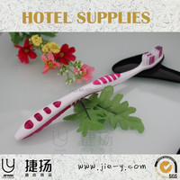 wholesale high quality ensured mini toothbrush disposable toothbrush with cap