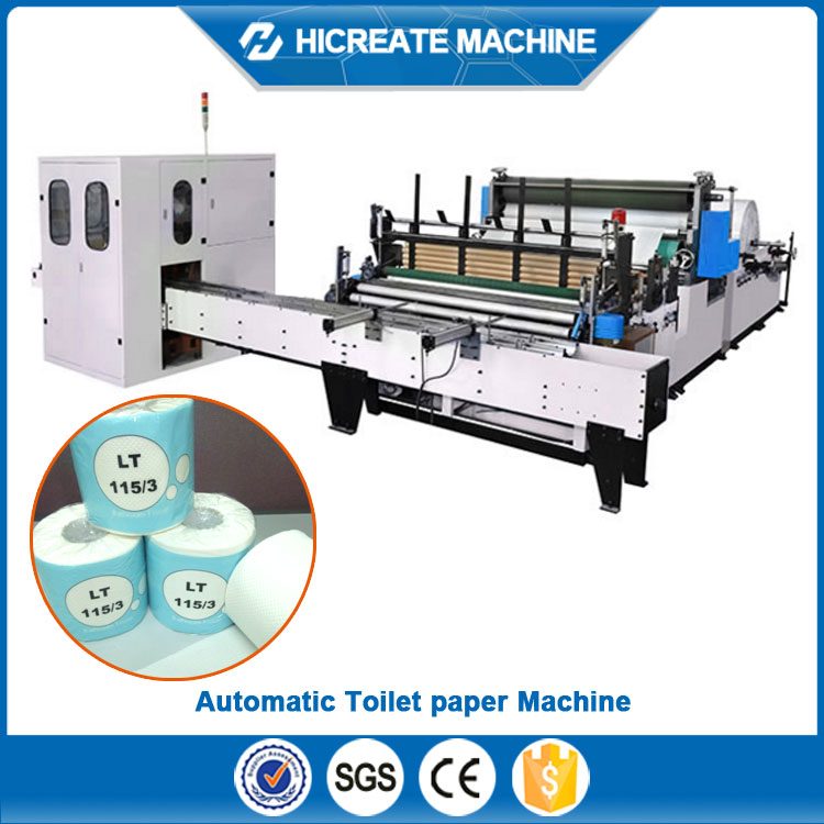 waterproof Toilet paper packing line With PLC Control