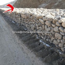 Galvanized and PVC Coated 8*10 gabion box with high quality material factory price