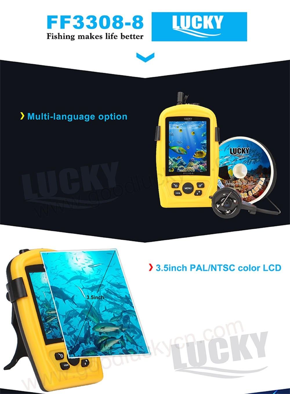 Underwater Camera Lucky Underwater Fishing Camera