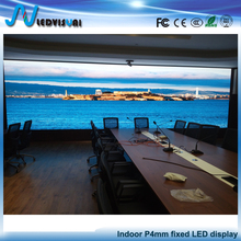 Meeting room Background Video led wall p4 Indoor Full Color Flexible LED Curtain display module