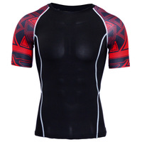 Custom Sublimation Compression Shirts Sports Fitness