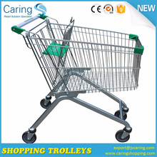 Zinc and powder coating shop trolley for sale