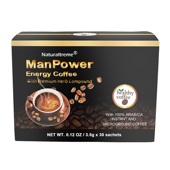 Hot Sale Black Maca Man Energy Coffee for Men