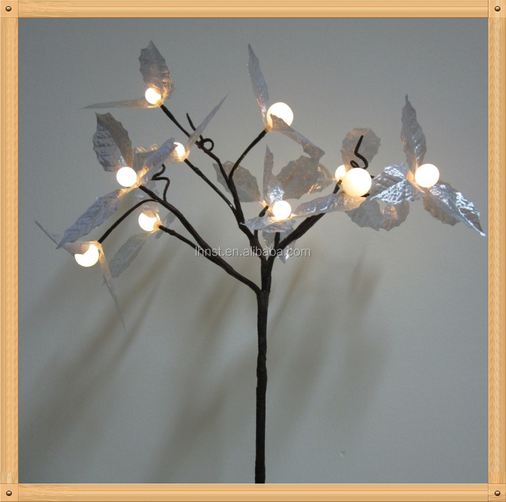 Newest factory sale OEM quality white led birch tree fast shipping