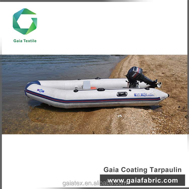 Wholesale products pvc vinyl coated tarpaulin fabric/ inflatable boat