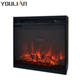 2018 CE CSA certificated luxury cast iron LED flame effect electric fireplace insert with overheat protection