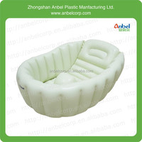 ANBEL New inflatable infant baby soft bath showers tub thick PVC for newborn gift
