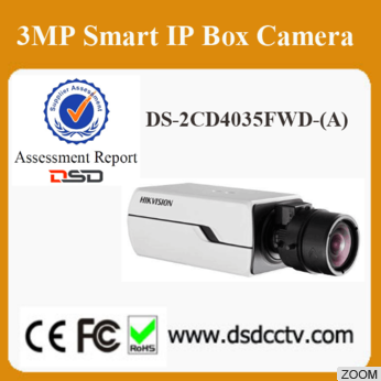 Hikvision 3MP Box CCTV camera DS-2CD4035FWD-A with Auto Back Foucus