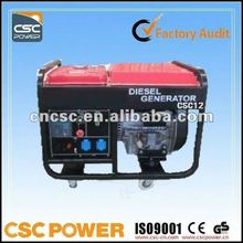 Lowest price promise !!! 8kva diesel generator with CE$ISO9000