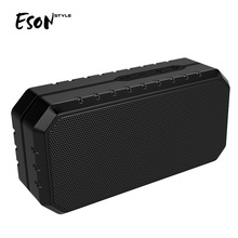 Eson Style IPX4 waterproof multimedia 3d speaker mini portable bluetooth speaker rubber wireless multimedia speaker BQB OEM