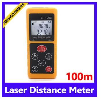 100M digital rangefinder 328ft range finder distance calculator with LCD display