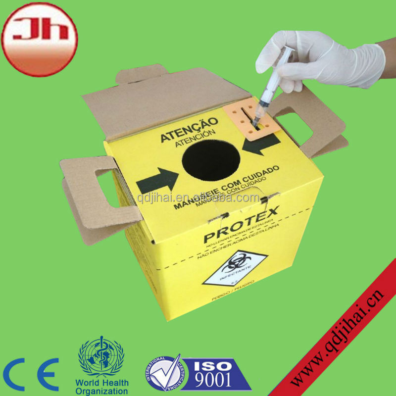 medical dilators devices yellow corrugated boxes,medical corrugated box