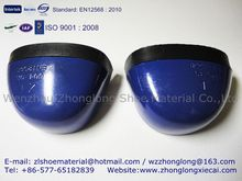 steel toe cap with rubber strip for safety shoes 604 mould EN12568