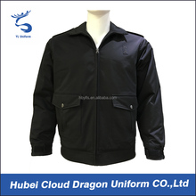 Waterproof warm security guard men winter coat for duty