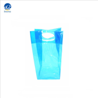 wholesale pvc ice wine bag, plastic bottle wine cooler bag new design