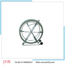 Pultrusion machine made FRP cable rods, FRP push pull duct cable, push pull fiber cable