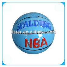 NBA Ceramic Basketball Design Money Box,Coin Bank