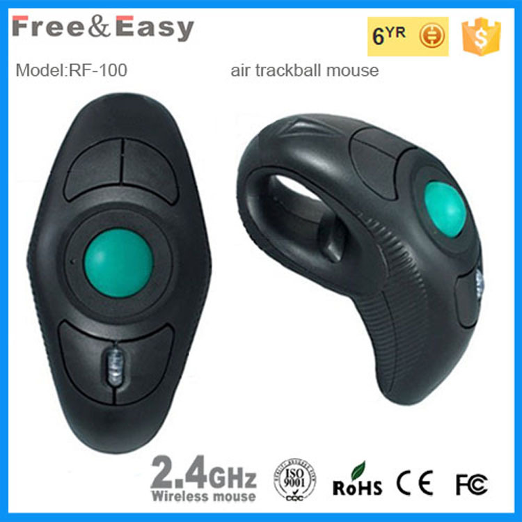Ergonomically designed handle 2.4g Laser wireless ring mouse mouse with ce fcc standard