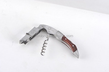 Cheap stainless steel corkscrew funny wine opener made in China