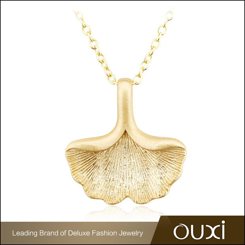 OUXI 2015 leaf shaped new arrival wholesale silver jewelry for fashion women