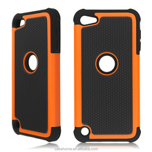 wholesale 3 in 1 tpu silicone case for iPod touch 5