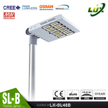 new design led street light factory price 100W led daylight projector