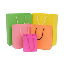 Customized paper bag for children birthday party gift packaging bag